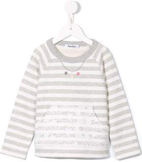 Familiar striped sweater