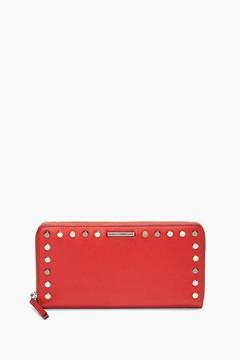 Rebecca Minkoff Midnighter Zip Around Wallet - RED - STYLE