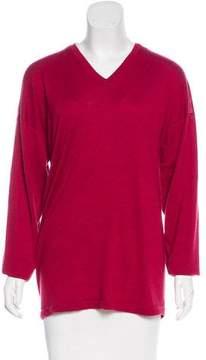 eskandar Cashmere Long Sleeve Sweater