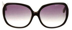 Dita Oversize Round Sunglasses