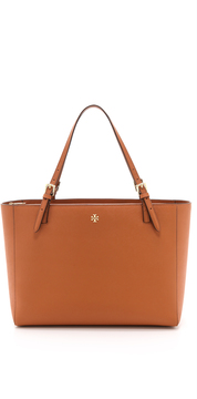 Tory Burch York Buckle Tote - LUGGAGE - STYLE