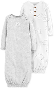 Carter's Baby Boys & Girls 2-Pk. Cotton Sleeper Gowns
