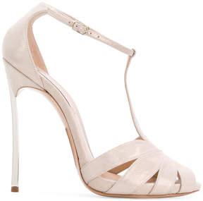 Casadei Blade caged sandals