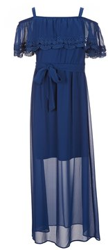 I.N. Girl Big Girls 7-16 Cold-Shoulder Maxi Dress