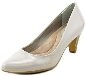 Giani Bernini Tessah Women Round Toe Synthetic Gray Heels.