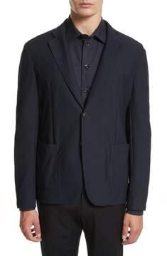 Armani Collezioni Mesh Knit Jacket