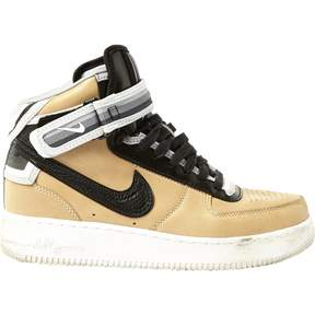 Nike Air Force 1 leather trainers