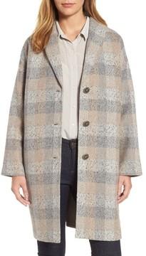 Eileen Fisher Women's Plaid Alpaca Blend Coat