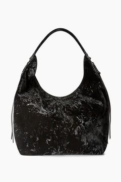 Rebecca Minkoff Velvet Bryn Double Zip Bag Boho Hobo Bag - ONE COLOR - STYLE