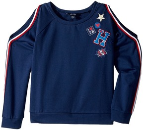 Tommy Hilfiger Cold Shoulder Pullover Girl's Clothing