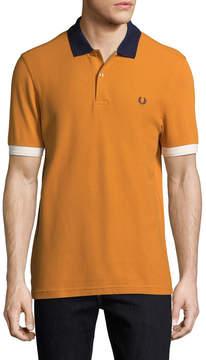 Fred Perry Men's Spread Collar Polo Shirt