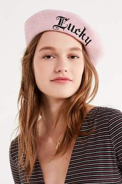 Urban Outfitters Lucky Wool Beret