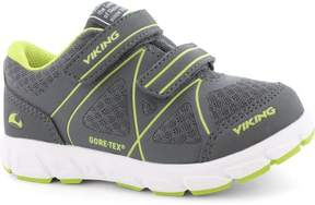 Viking Fritidsskor, GORE-TEX®, Trym, Charcoal/Lime
