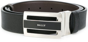 Bally contrast buckle belt