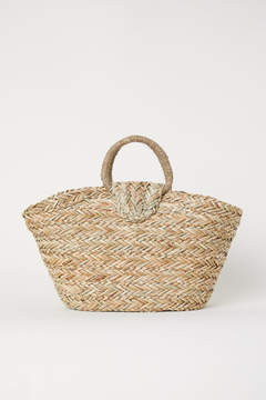 H&M Straw Bag - Beige