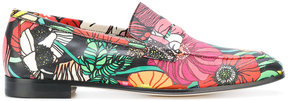 Paul Smith floral print loafers