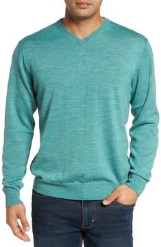Cutter & Buck Men's Big & Tall Douglas V-Neck Sweater