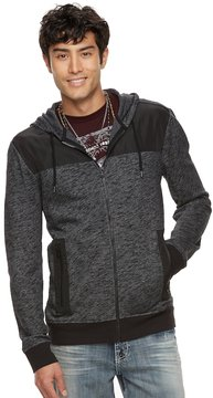 Rock & Republic Men's Mixed Media Hoodie