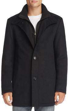 BOSS GREEN Coxtan Layered Wool Blend Coat - 100% Exclusive