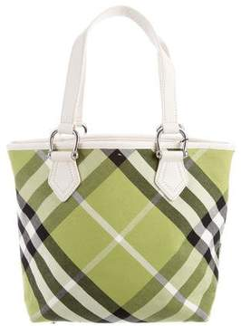 Burberry Supernova Check Byron Tote