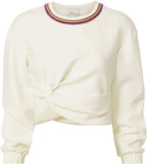 3.1 Phillip Lim Twisted Crop Sweater
