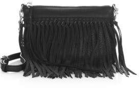 Rebecca Minkoff Fringed Leather Crossbody Handbag