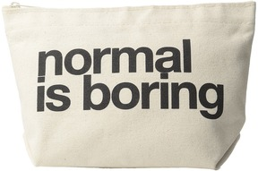 Dogeared - Normal Is Boring Lil Zip Bags