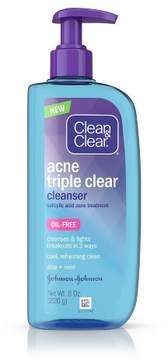 Clean & Clear®Acne Triple Clear Cleanser - 8oz