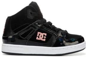 DC Kids' Rebound SE High Top Skate Shoe Pre/Grade School