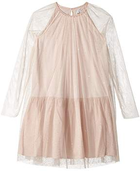 Stella McCartney Misty Rhinestone Embellished Tulle Dress Girl's Dress