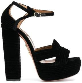 Aquazzura Ava platform sandals