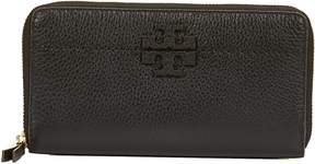Tory Burch Mcgraw Zip Continental Wallet - NERO - STYLE