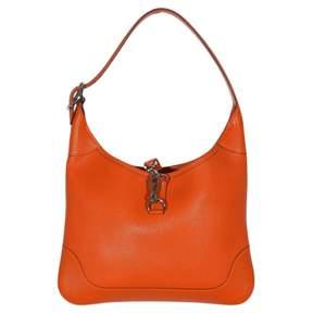Hermes Trim leather handbag - ORANGE - STYLE