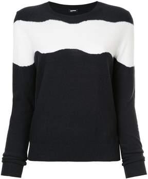 Jil Sander Navy striped sweater