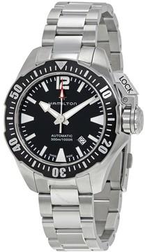 Hamilton Khaki Navy Frogman Automatic Black Dial Men's Watch