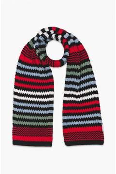 Sonia Rykiel MulticolourStriped Chunky Knit Scarf