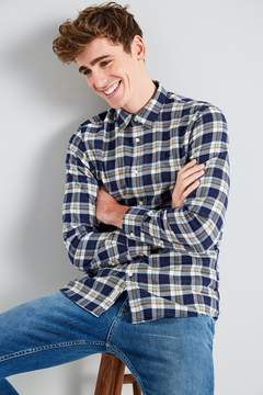 Jack Wills Salcombe Lw Flannel Plaid Shirt