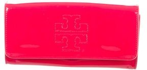 Tory Burch Patent Leather Clutch - RED - STYLE