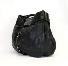 Marc by Marc Jacobs Black Leather Bucket Bag