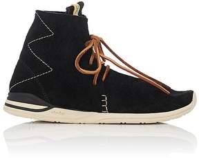 Visvim Men's Huron Moc Hi-Folk Sneakers