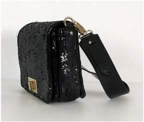 Kate Spade Black Sequin Harlow Bag