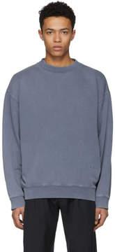 Acne Studios Blue Fayte Wash Sweatshirt