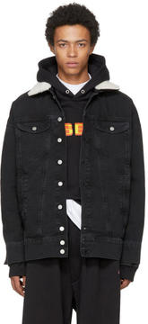 Misbhv Black Denim Tribal 95 Euphoria Jacket