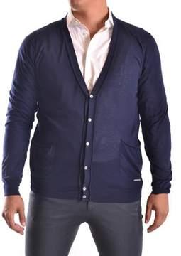 CNC Costume National Men's Blue Cotton Cardigan.