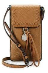 Rebecca Minkoff Isobel Leather Phone Crossbody Bag - CAMEL - STYLE
