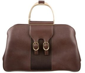 Gucci Limited Edition Stirrup Handle Tote - BROWN - STYLE