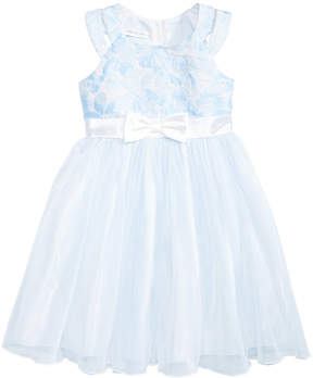 Bonnie Jean Floral Jacquard Ballerina Dress, Big Girls