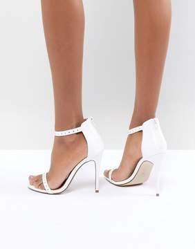 New Look Stud Minimal High Sandal