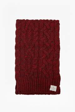 French Connection Chad Cable Knit Scarf