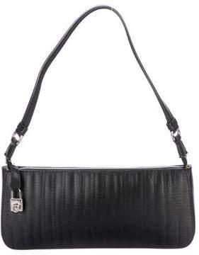 Salvatore Ferragamo Leather Gancino Shoulder Bag